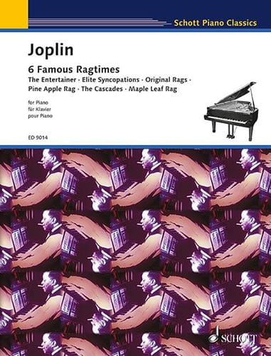 Scott Joplin - 6 Ragtimes - Partition - di-arezzo.co.uk