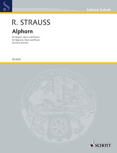 Alphorn - Richard Strauss - Partition - Cor - laflutedepan.com