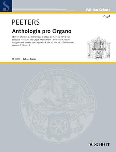 Anthologia Pro Organo Bd 3 - Partition - Orgue - laflutedepan.com