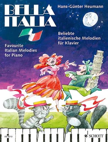 Hans-Günter Heumann - Bella Italia - Partition - di-arezzo.co.uk