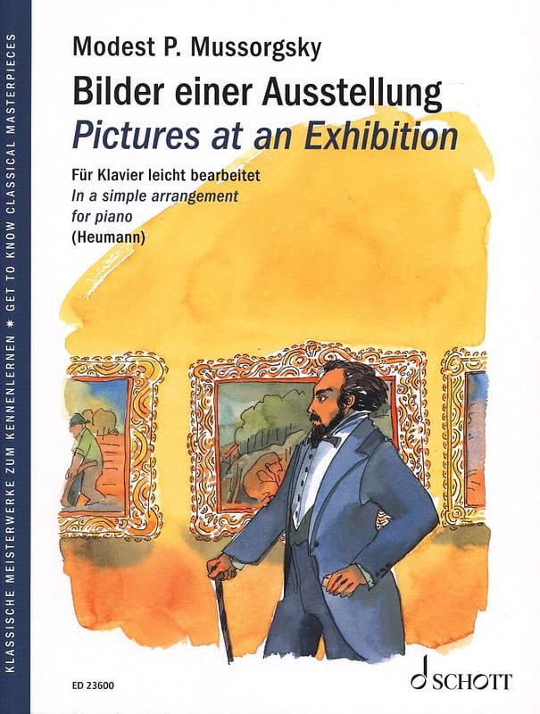 Modest Moussorgsky - Imágenes de una exposición. - Partition - di-arezzo.es