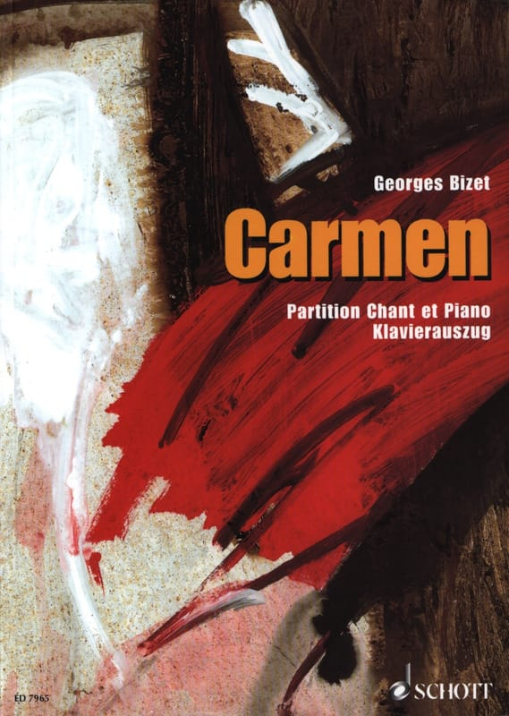 BIZET - Carmen - Partition - di-arezzo.co.uk