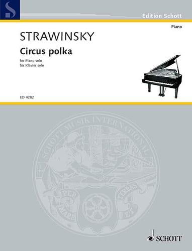 Igor Stravinski - Circus Polka 1942 - Partition - di-arezzo.co.uk