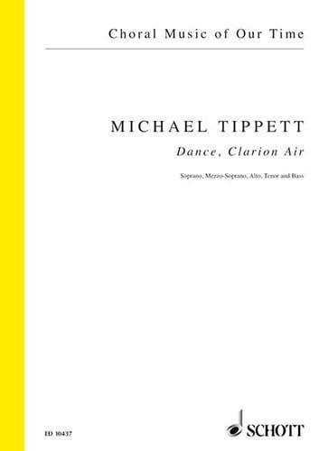 Dance, Clarion Air - Michael Tippett - Partition - laflutedepan.com