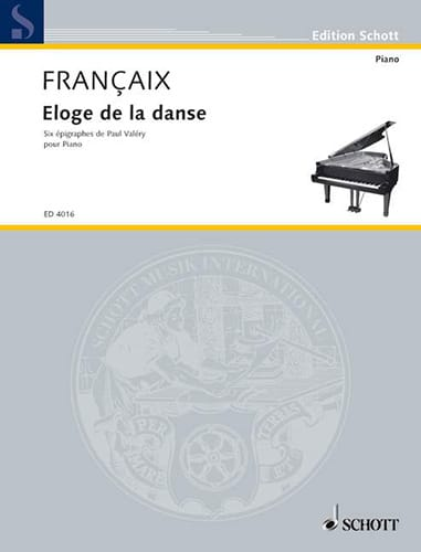 Jean Françaix - Praise of the dance - Partition - di-arezzo.com