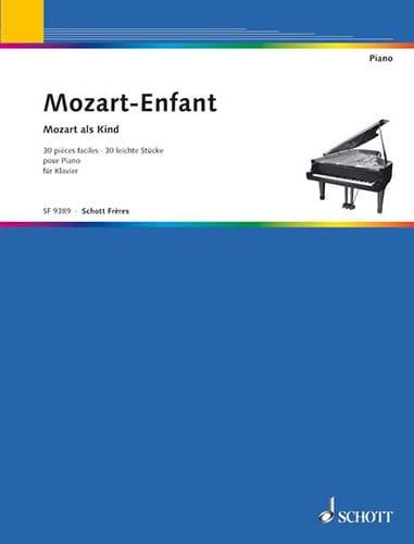 MOZART - Mozart Child - Partition - di-arezzo.co.uk