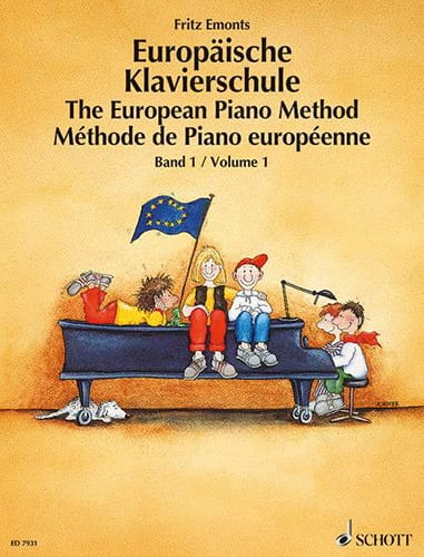 Fritz Emonts - European Piano Method Volume 1 - Partition - di-arezzo.co.uk