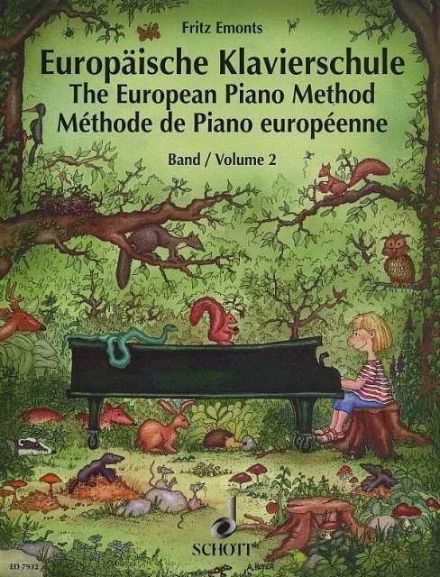 Méthode Européenne de piano Volume 2 - Fritz Emonts - laflutedepan.com