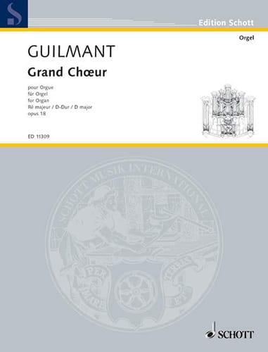 Grand Choeur En Ré Opus 18 - Alexandre Guilmant - laflutedepan.com