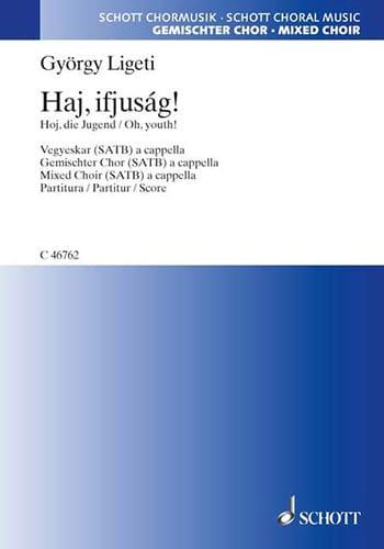 György Ligeti - Haj, ifjuság - Partition - di-arezzo.fr