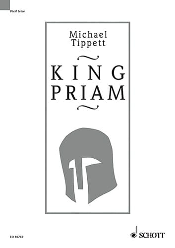Michael Tippett - King Priam - Partition - di-arezzo.co.uk