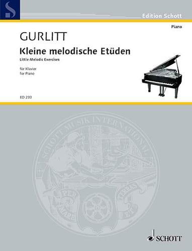 Petites études mélodiques Op 187 pour les commençants - laflutedepan.com