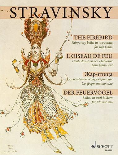 Igor Stravinski - The Firebird 1909/10 - Partition - di-arezzo.co.uk