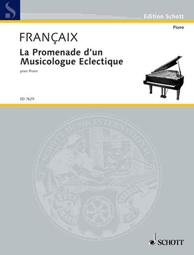 Jean Françaix - The Promenade of an Eclectic Musicologist 1987 - Partition - di-arezzo.com