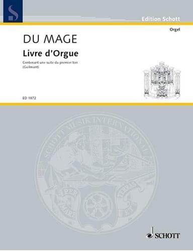 Pierre du Mage - Organ book - Partition - di-arezzo.co.uk