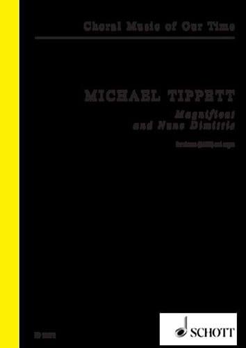 Magnificat and Nunc dimittis - Michael Tippett - laflutedepan.com