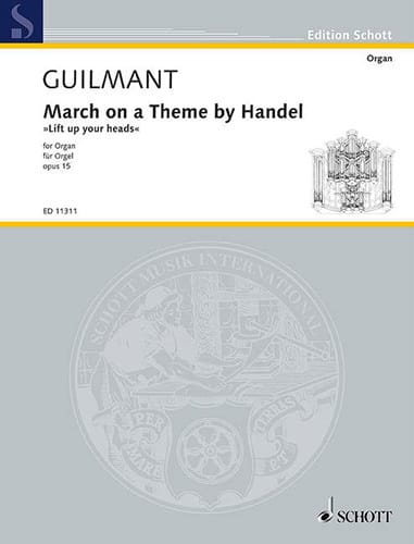 Alexandre Guilmant - Walk on a Theme by Handel Opus 15. In F - Partition - di-arezzo.co.uk