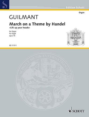 Marche sur un Thème de Haendel Opus 15. En Fa - laflutedepan.com
