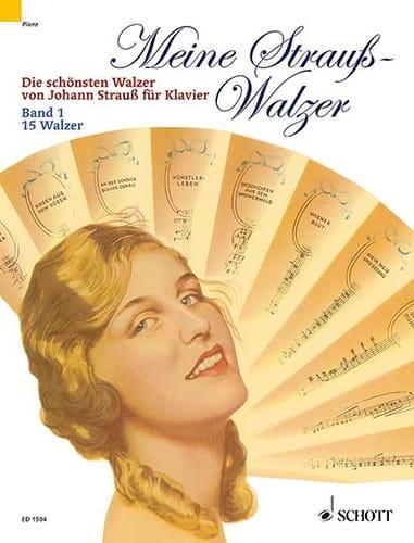 Meine Strauss-Walzer, Bd 1 - Johann fils Strauss - laflutedepan.com