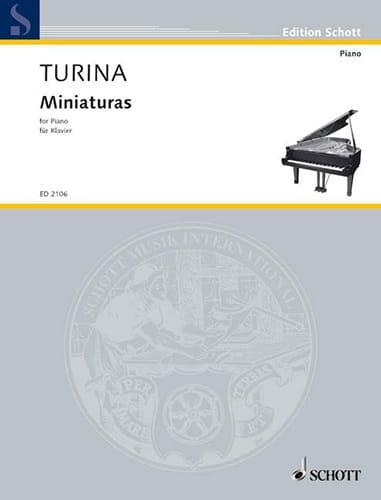 Miniaturas - TURINA - Partition - Piano - laflutedepan.com