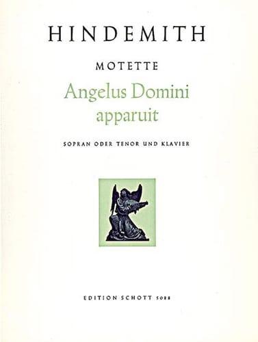 Angelus Domini Apparuit - HINDEMITH - Partition - laflutedepan.com