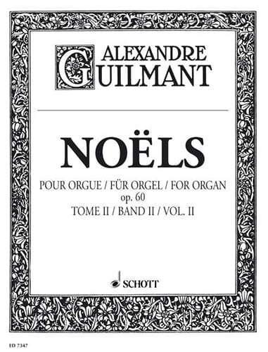 Alexandre Guilmant - Christmas Volume 2 Opus 60 - Partition - di-arezzo.co.uk