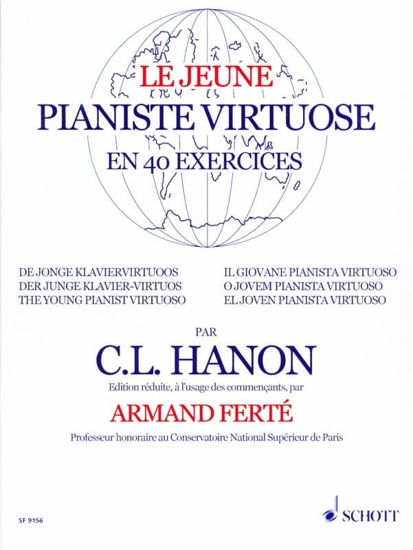 HANON - Le Jeune Pianiste Virtuose - Partition - di-arezzo.ch