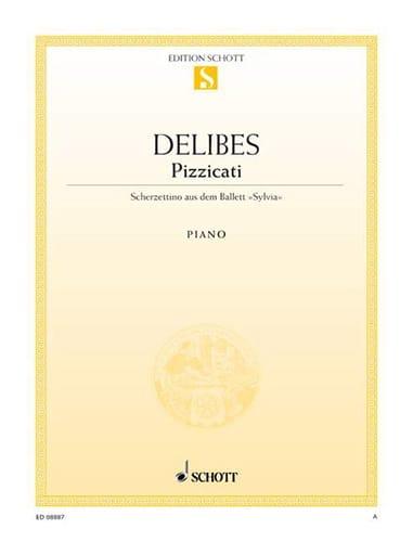 Pizzicati - DELIBES - Partition - Piano - laflutedepan.com