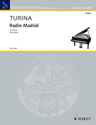Radio Madrid - TURINA - Partition - Piano - laflutedepan.com