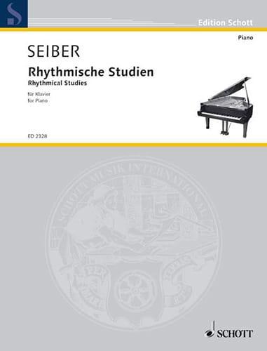 7 Rhythmische Studien - Mátyás Seiber - Partition - laflutedepan.com