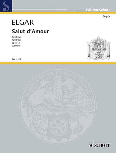 Salut D'amour Op. 12 - ELGAR - Partition - Orgue - laflutedepan.com