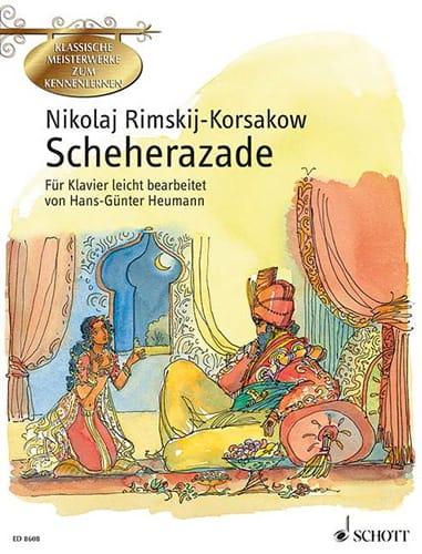 Sheherazade - RIMSKY-KORSAKOV - Partition - Piano - laflutedepan.com