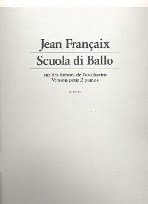Scuola Di Ballo. 2 Pianos - FRANÇAIX - Partition - laflutedepan.com