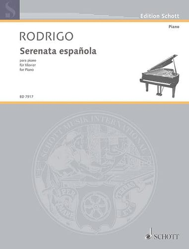 Joaquin Rodrigo - Serenata española 1931 - Partition - di-arezzo.co.uk
