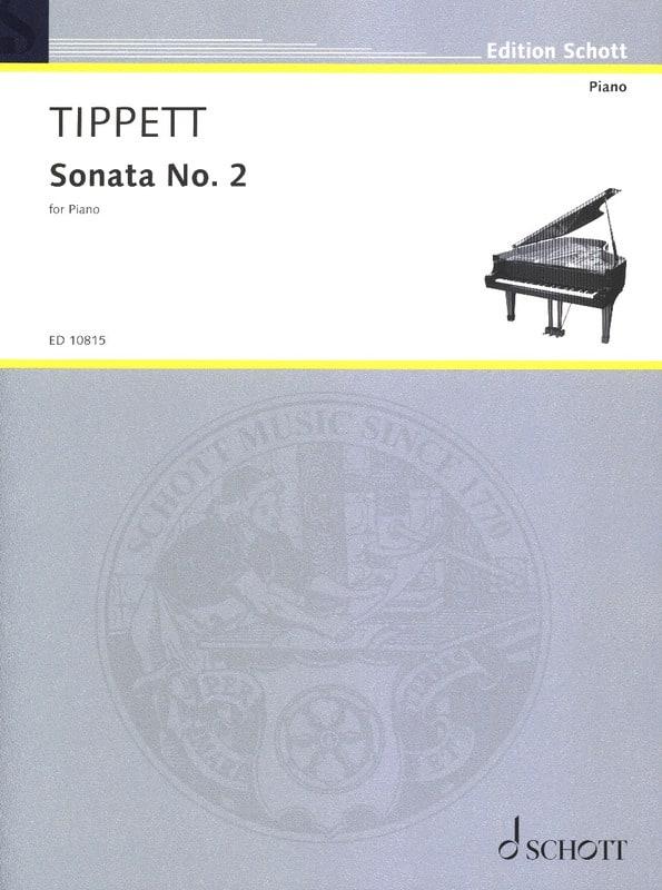 Sonata N°2 - Michael Tippett - Partition - Piano - laflutedepan.com