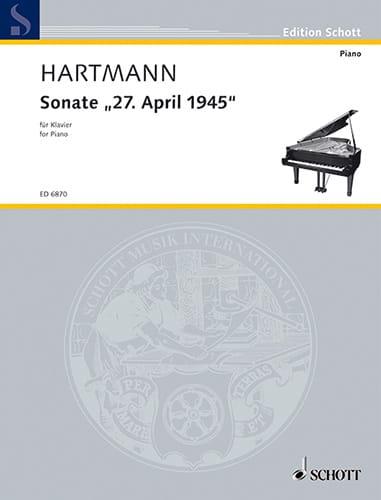 Sonate 27. April 1945 - Karl Amadeus Hartman - laflutedepan.com