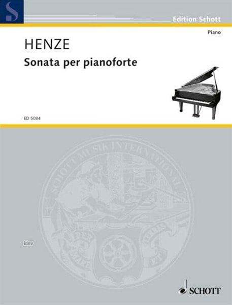 Sonate 1959 - Hans W Henze - Partition - Piano - laflutedepan.com