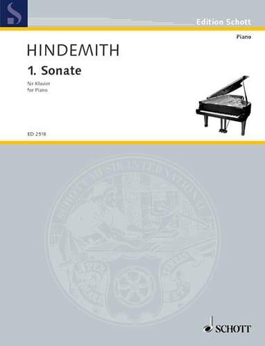 Sonate N°1 - HINDEMITH - Partition - Piano - laflutedepan.com
