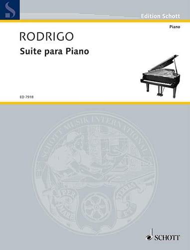 Suite (1923) - RODRIGO - Partition - Piano - laflutedepan.com