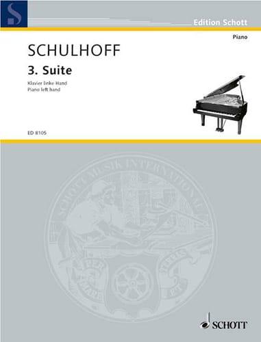 Suite N°3 1926 - Erwin Schulhoff - Partition - laflutedepan.com