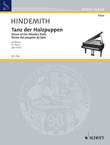 Tanz der Holzpuppen - HINDEMITH - Partition - Piano - laflutedepan.com