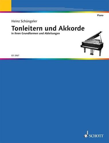 Tonleitern und Akkorde - Heinz Schüngeler - laflutedepan.com