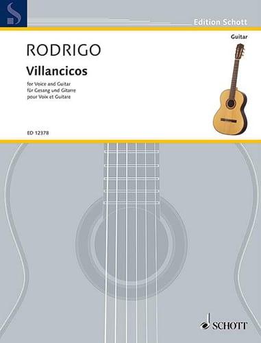 Villancicos - RODRIGO - Partition - Guitare - laflutedepan.com