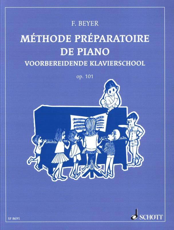 Ferdinand Beyer - Preparatory Piano Method Opus 101 - Partition - di-arezzo.co.uk