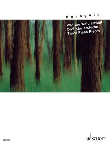 Was der Wald erzählt - KORNGOLD - Partition - Piano - laflutedepan.com