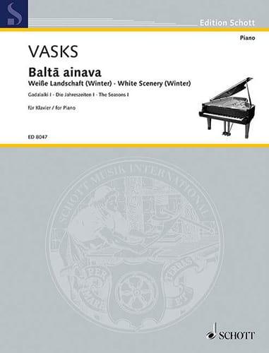 Balta Ainava - White Scenery Winter - Péteris Vasks - laflutedepan.com