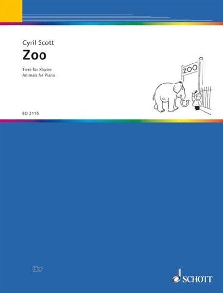 Zoo - Cyril Scott - Partition - Piano - laflutedepan.com