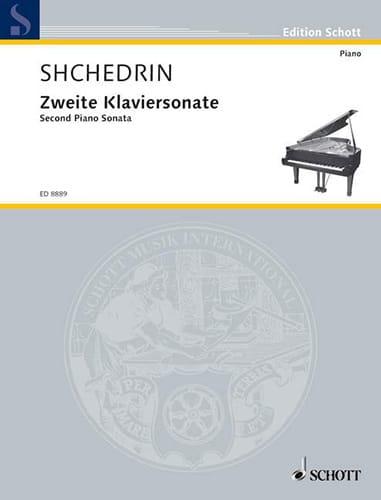 Zweite Klaviersonate 1996 - Rodion Chedrin - laflutedepan.com