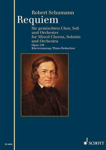 Requiem en Ré bémol majeur Opus 148 - SCHUMANN - laflutedepan.com