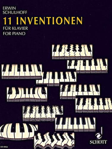 11 Inventions 1921 - Erwin Schulhoff - Partition - laflutedepan.com